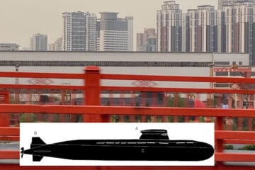 Image May Reveal A New Type Of Submarine For The Chinese Navy