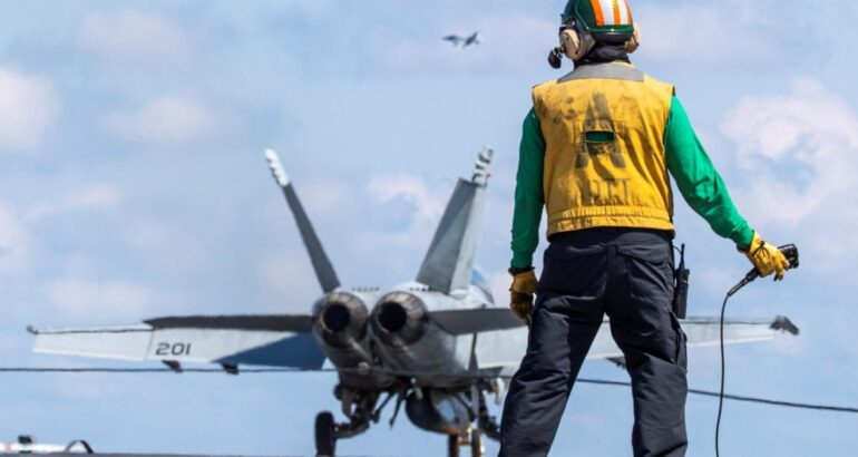 EMALS, AAG hit 8,000 aircraft recoveries, launches before completion of Ford Post Delivery Test & Trials
