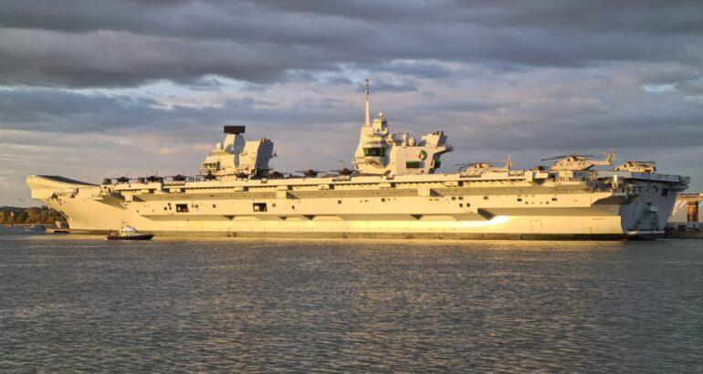 HMS Queen Elizabeth Set Sails for her Maiden Operational Deployment - CSG21