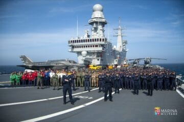 Italian Aircraft Carrier Cavour is Back Home, Qualified for F-35B