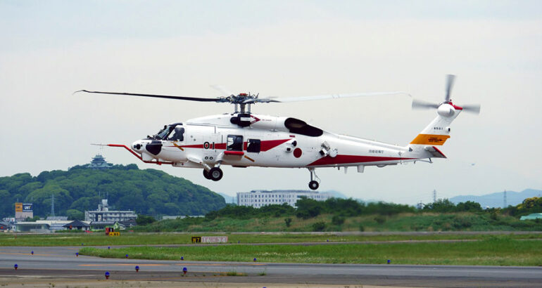 Japan's Upgraded SH-60K Maritime Helicopter Takes First Flight