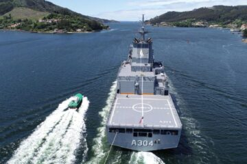 Royal Australian Navy' Second Supply-Class AOR Sails Home
