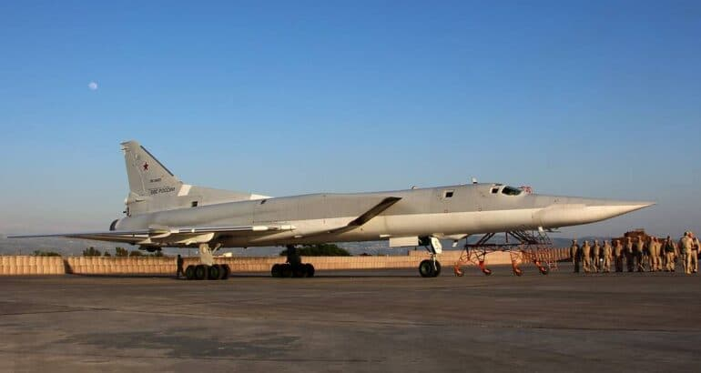 Tupolev Tu-22M3 at Russia's Hmeymim airbase