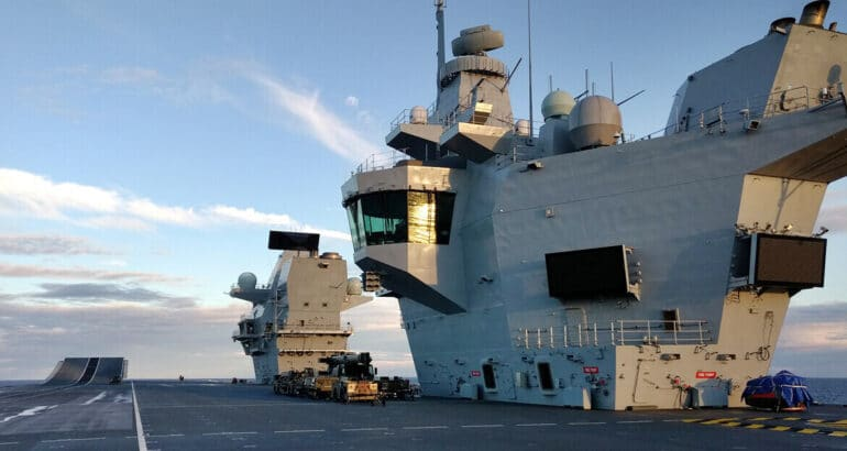 Thales provides communications upgrade to HMS Queen Elizabeth ahead of CSG21