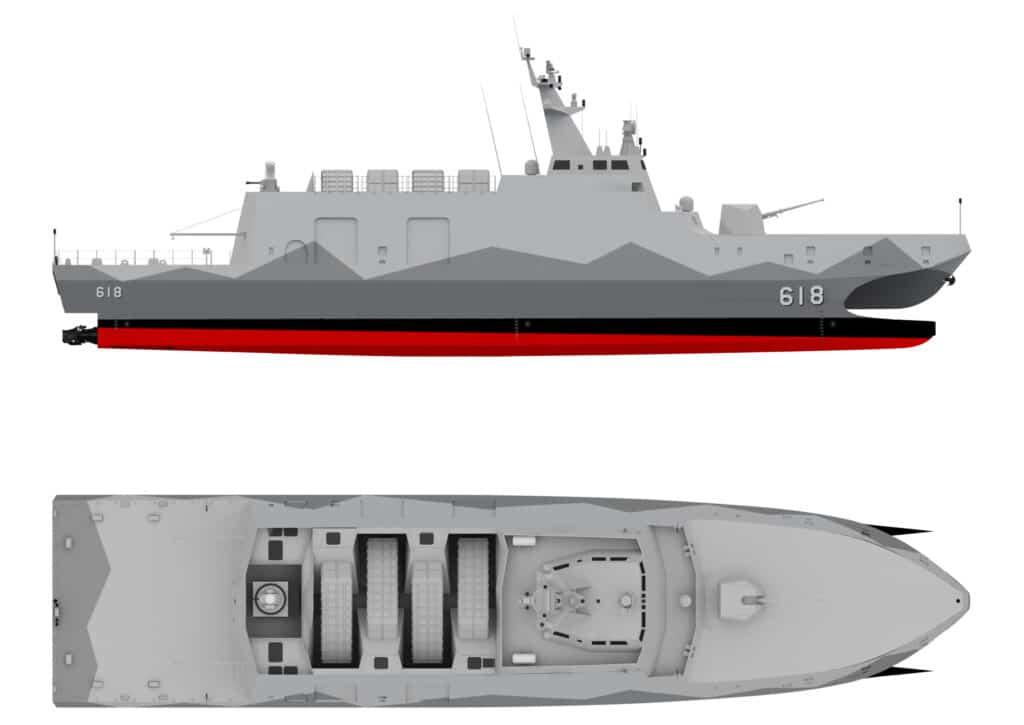 Tuo Chiang class catamaran