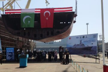 Turkey Laid Keel Of Pakistan Navy's Third Jinnah-class MILGEM Corvette