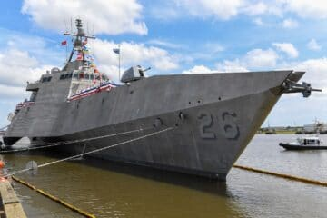 U.S. Navy Commissions its 26th Littoral Combat Ship USS Mobile