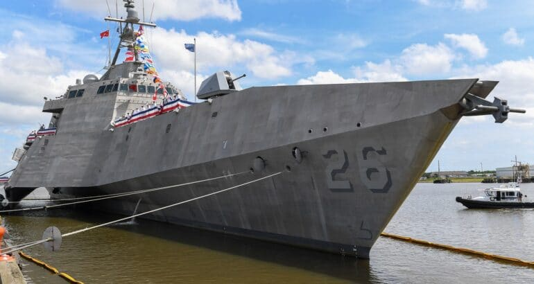 USS Mobile Commissioning Ceremony