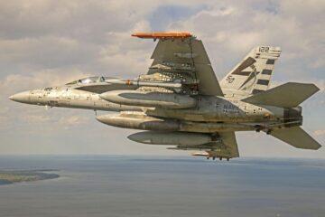 U.S. Navy Completes Captive Carry Test of AARGM-ER missile Aboard Super Hornet