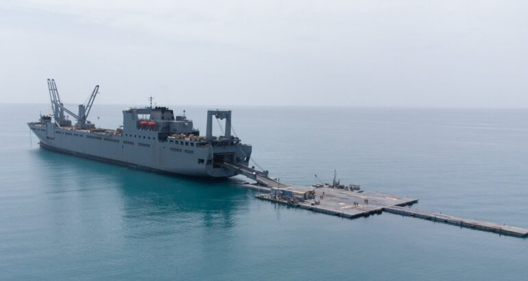 USNS Bob Hope Defender Europe