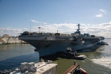 USS John C. Stennis (CVN 74) Arrives at HII to Start its Refueling and Complex Overhaul