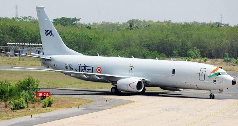 P-8I Neptune MPA of the the Indian Navy.