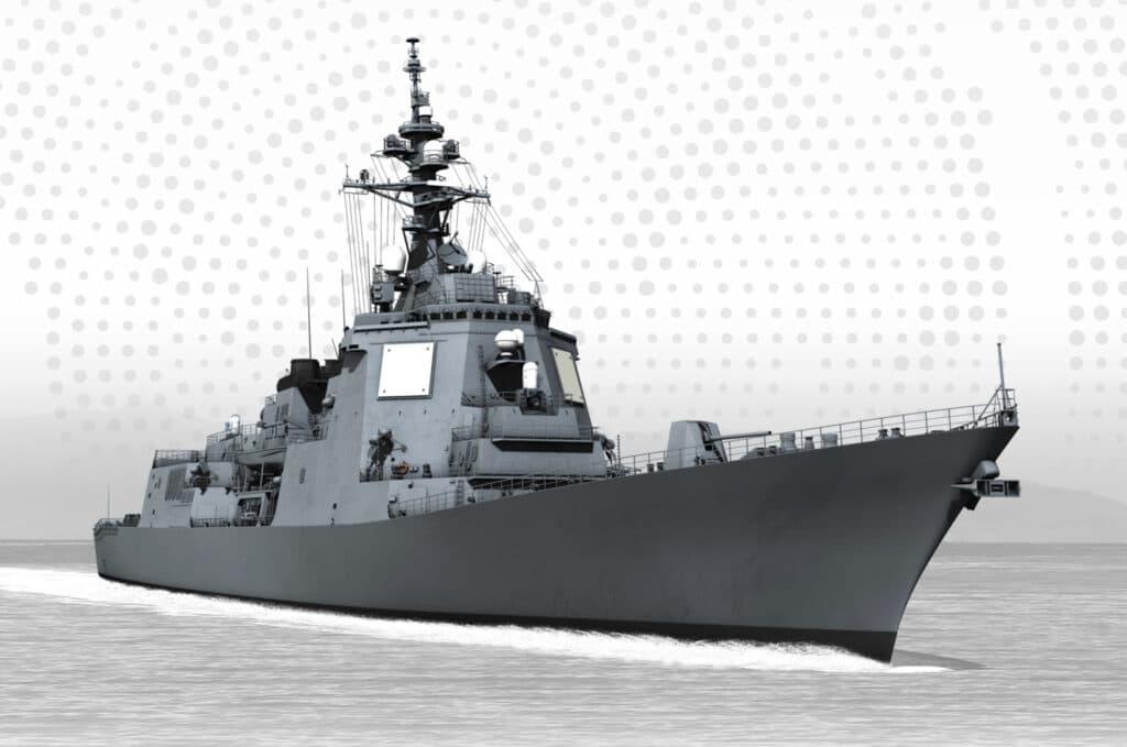JMSDF DDG fitted with SPY-7 radar