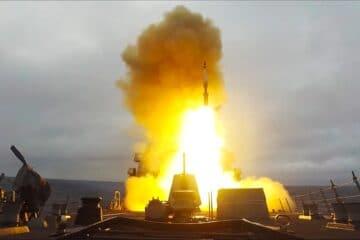 U.S. Navy Arleigh Burke Destroyer (DDG117) Intercepts Ballistic Targets