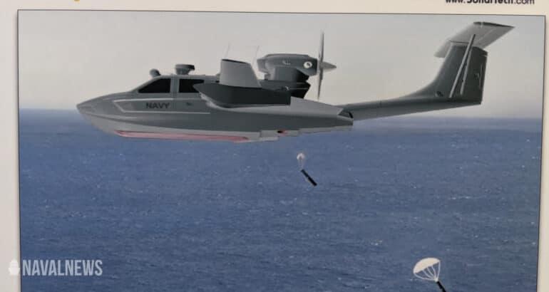 Aron, Sonartech Team Up for M80 Seaplane ASW