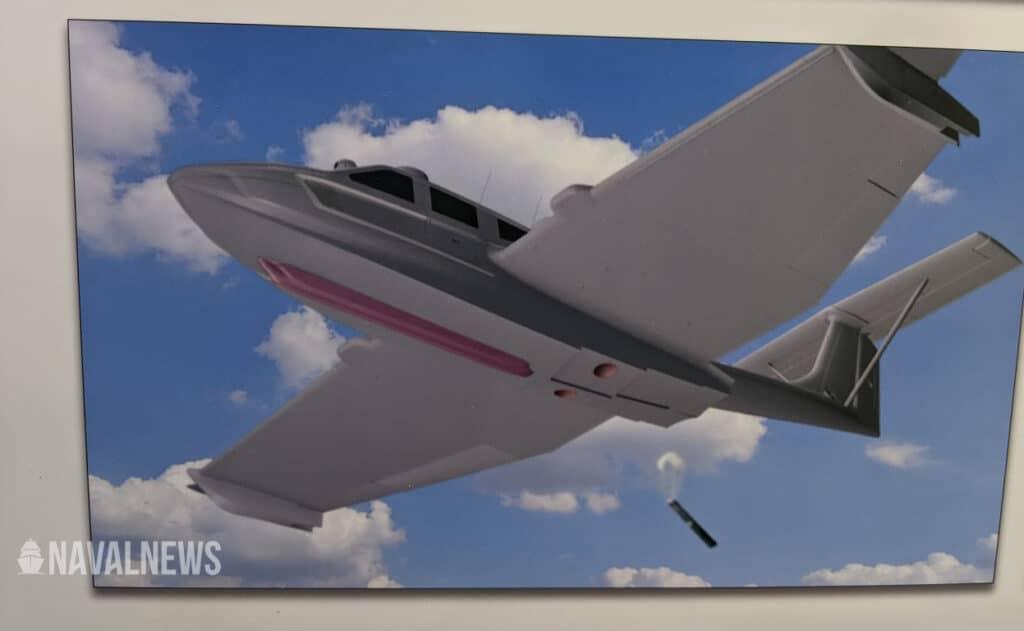 Aron, Sonartech Team Up for M80 Seaplane ASW Sonobuoy