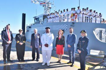 Australia Delivers Austal-built Guardian-class Patrol Boat To Kiribati