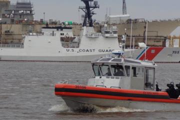 USCG Accepted Delivery Of Last Long Range Interceptor II Cutter Boat