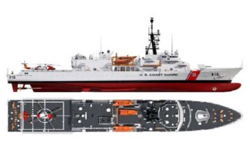 Bollinger Submits Proposal for USCG Heritage-class Offshore Patrol Cutter