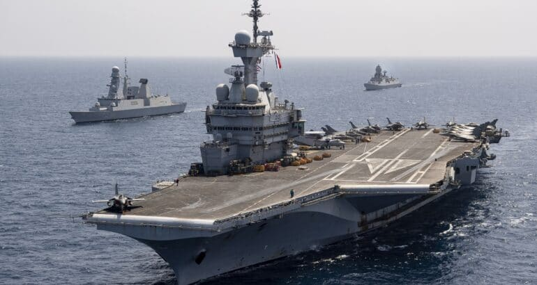 French CSG Concludes 'Clemenceau 21' Deployment