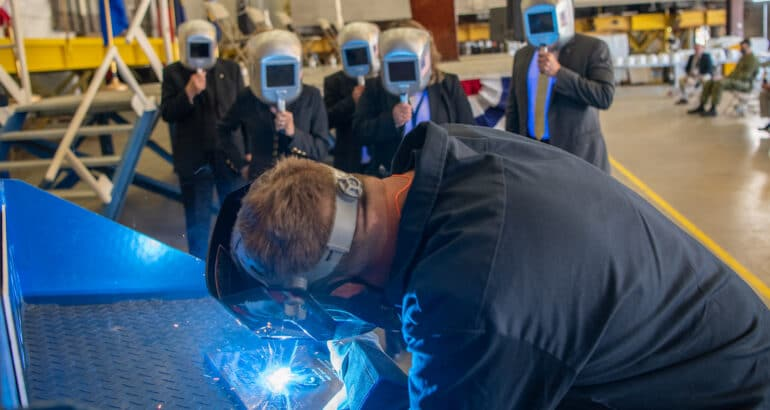 FMG Shipyards Lays Keel Of Future U.S. Navy's LCS 'USS Cleveland'