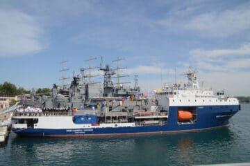 First Project 03182 Tanker Joins Russia's Black Sea Fleet