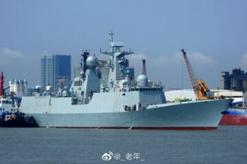 Pakistan's New Type 054 A/P Frigate Started Sea Trials in China