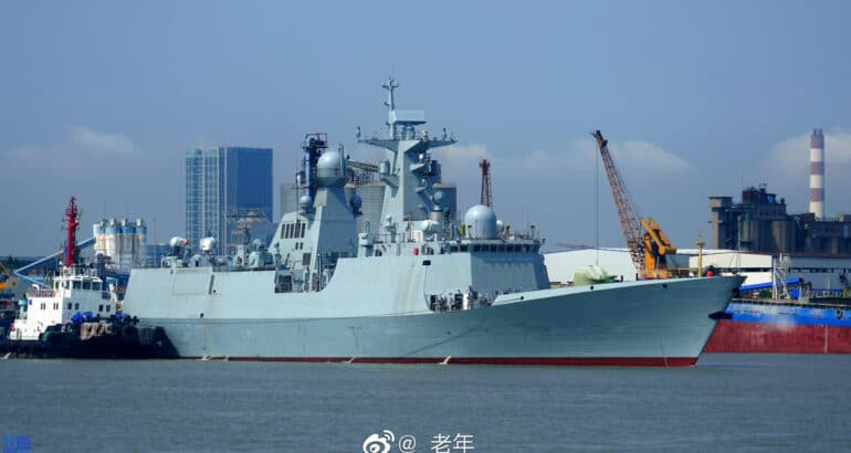 First Type 054 A/P Frigate For Pakistan Navy Started Sea Trials