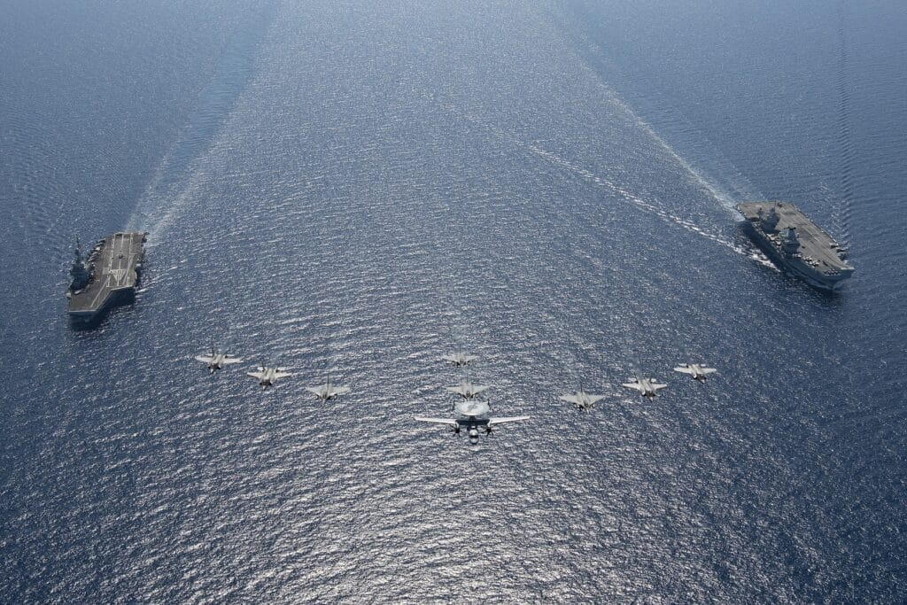 French - British Dual Carrier Exercise Gallic Strike Concludes