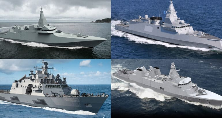Greece Shortlist for the Hellenic Navy Fleet Modernization Program