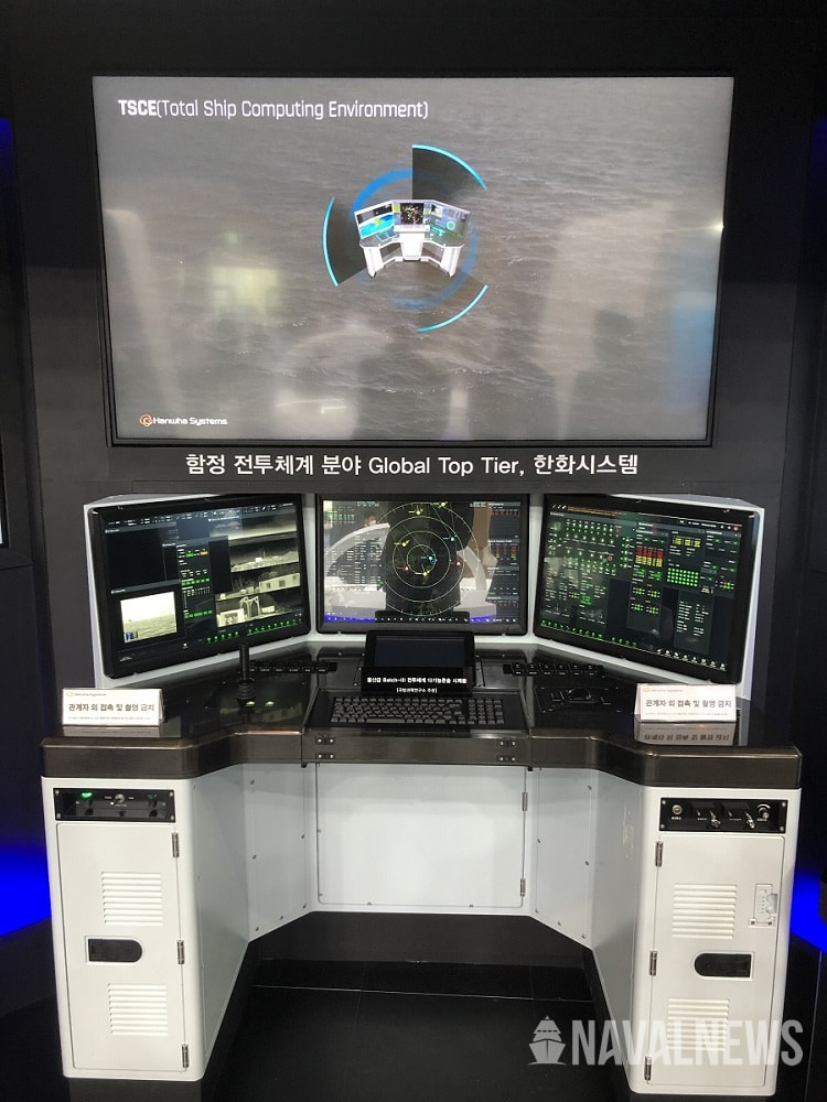 Hanwha Systems Unveils New Combat System for FFX Batch III