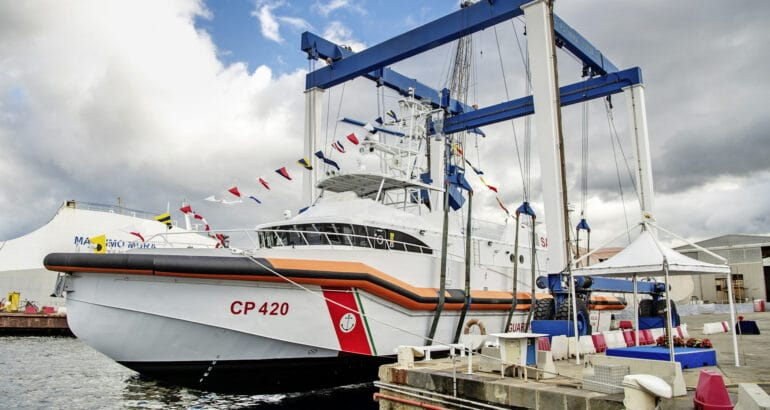 R&S equips Italian Coast Guard's new patrol boat with external communications systems