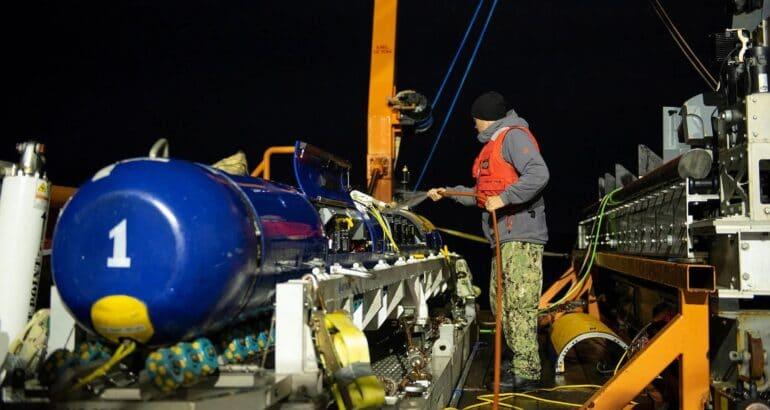 GDMS Will Upgrade Knifefish Surface Mine Countermeasures UUVs