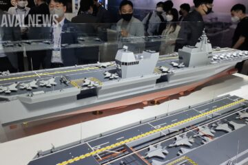 DSME and HHIC Join Forces On Korea's Aircraft Carrier Project