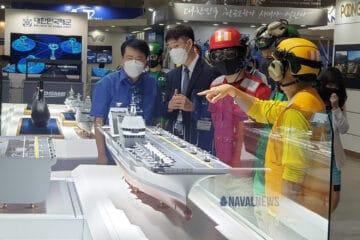 MADEX 2021: DSME Unveils its CVX Light Aircraft Carrier Design