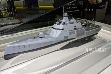 MADEX 2021: HHI Unveils HCX-21 Trimaran for Navies and Coast Guards