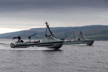 Royal Navy Takes Delivery Of Her Last Drone For Her Crewless Minehunting Programme