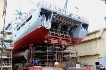 Russian Making Progress on Improved Ivan Gren-class Landing Ships