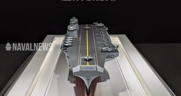 MADEX 2021: HHI unveils new CVX Aircraft Carrier design