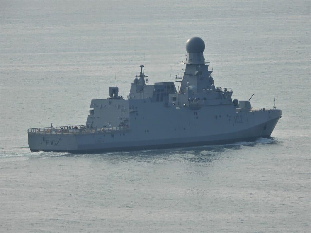 Qatar' Second Al Zubarah-class Corvette Started Sea Trials