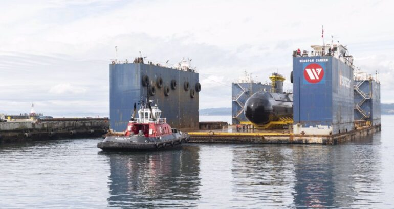 The Royal Canadian Navy annonces the return of HMCS Corner Brook to the water