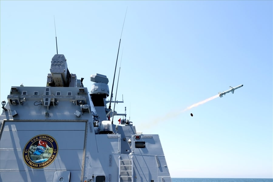 Turkey's anti-ship missile Atmaca aces final qualification test