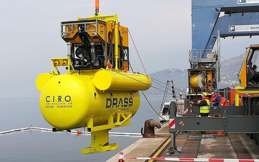 Saipem-DRASS-Submarine-Rescue-Vehicle-SRV