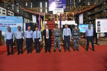 Keel Laying For Indian Navy's Second Project 1135.6 Frigate