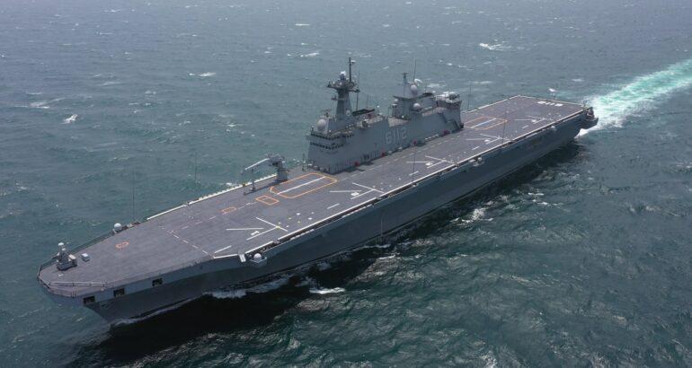 South Korea Commissions Second Dokdo-class Amphibious Ship ROKS Marado (LPH-6112)