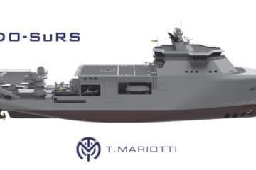 T. Mariotti Shipyard To Build Italian Navy Special Diving Operations – Submarine Rescue Ship