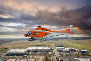 Leonardo Delivers First TH-73A Training Helicopter To U.S. Navy