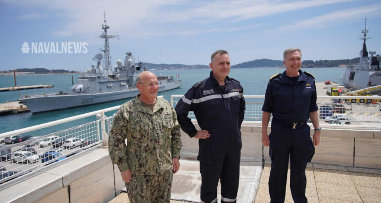 U.S., U.K., French Navies Reaffirm Commitment to Increased Cooperation