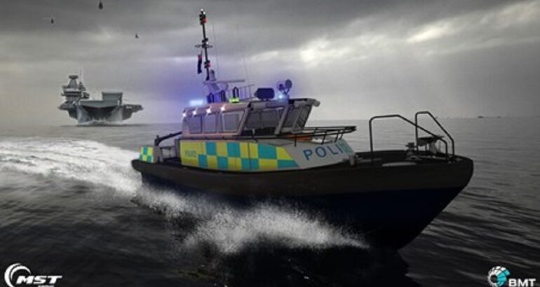BMT And MST Are Partner To Deliver New Police Patrol Crafts To UK MDP
