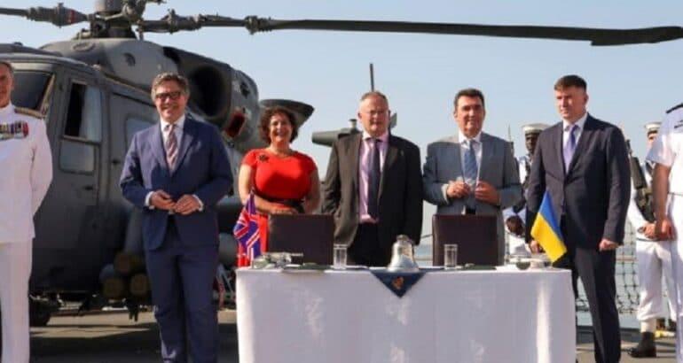 Babcock Signs Tripartite Agreement To Enhance Ukrainian Naval Capabilities